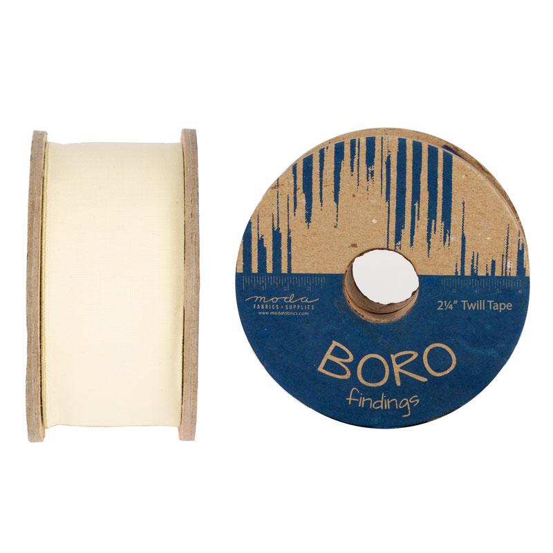 Boro Trim Twill Tape 2.25 Natural