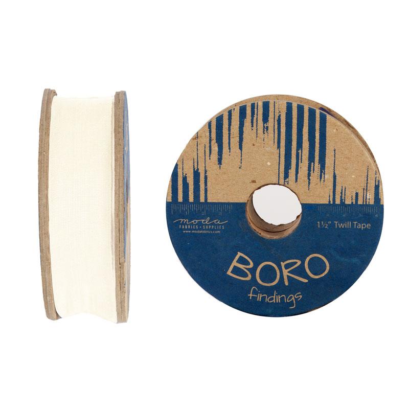 Boro Trim Twill Tape 1.5 Ivory!