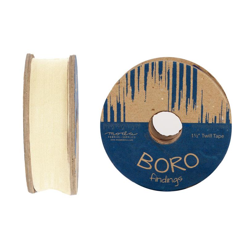 Boro Trim Twill Tape 1.5 Natrl