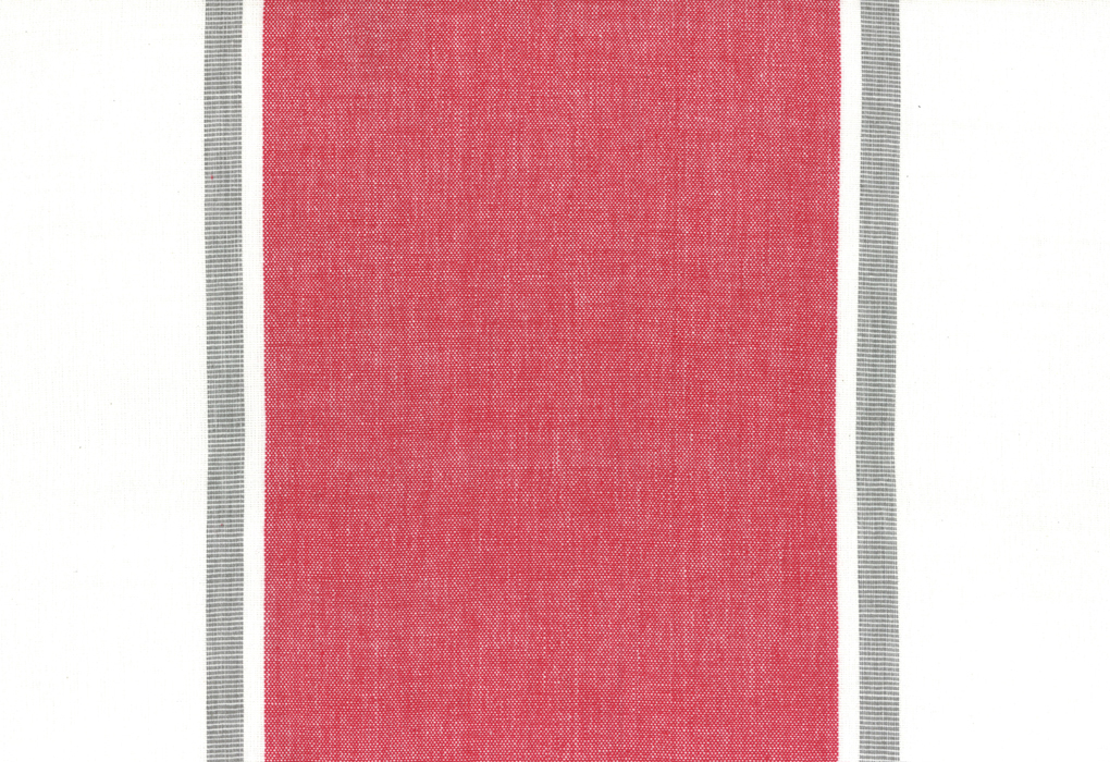 Toweling Picnic Point Tea in Red - 16 width