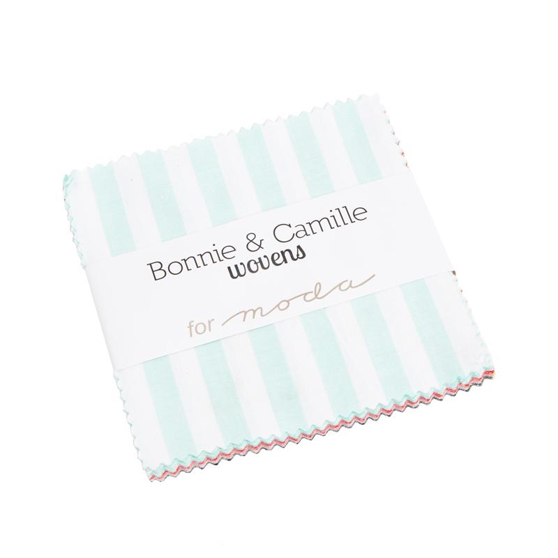 Bonnie & Camille Wovens Charm Pack for Moda 12405PP