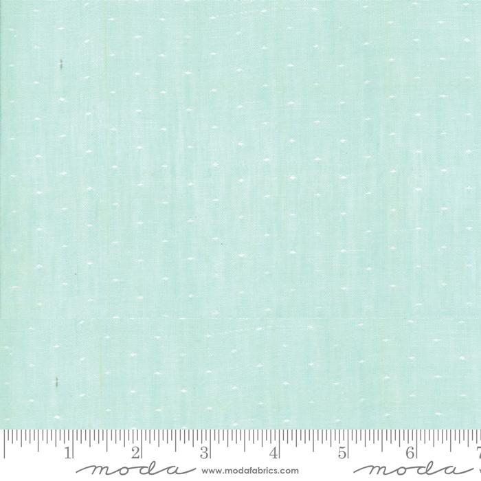 Item#12019.L - Wovens Dot Aqua - Moda - Bonnie & Camille - Bolt#12019.L