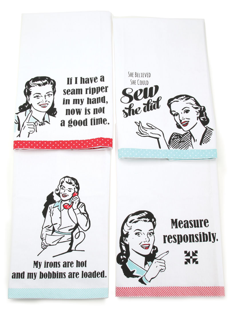 Snarky Women Towels Set Of 4