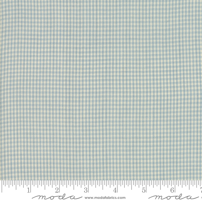 Northport Silky Check Light Blue 12215-14