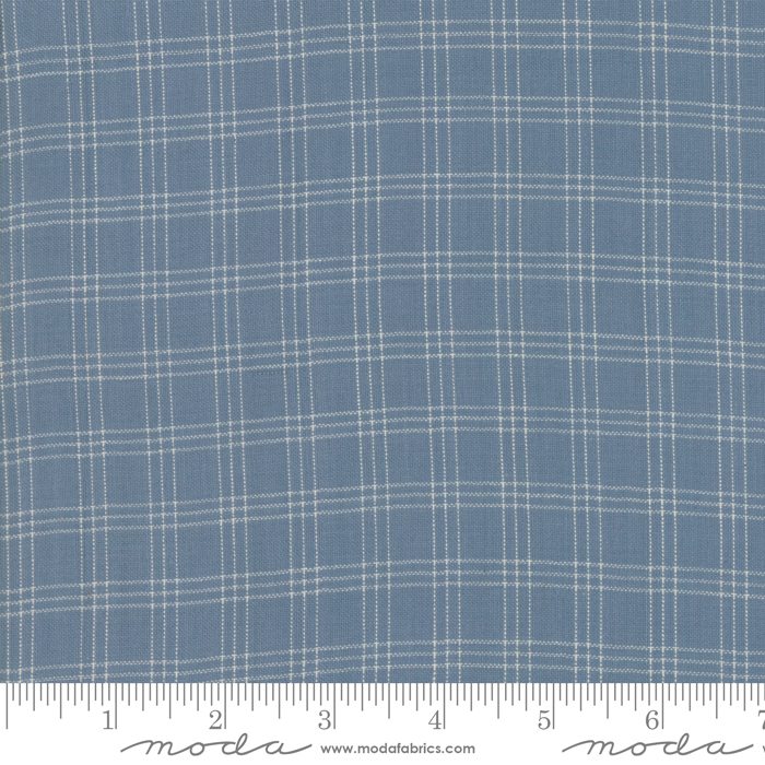 Northport Silky Plaid Med Blue 12215-18