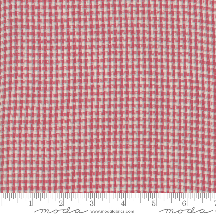 Northport Silky Plaid Red (Remnant)
