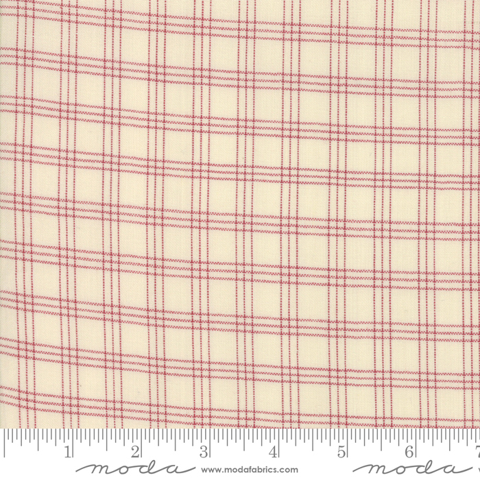Northport Silky Plaid Red 12215-28