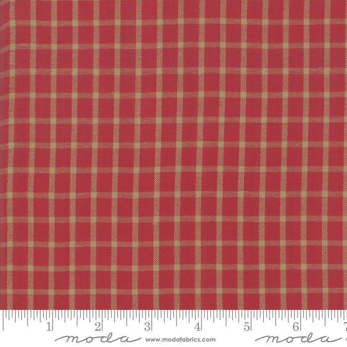 Northport Silky Plaid Red Tan 12215-35
