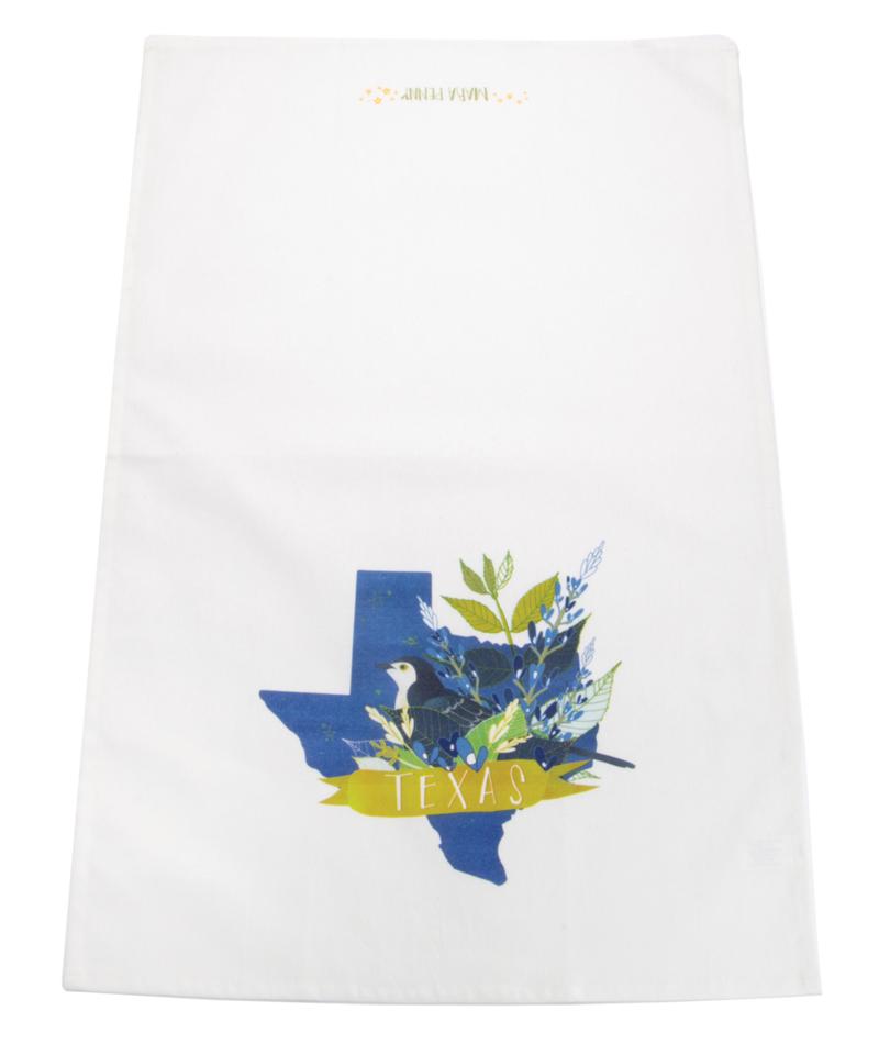 Desert Song Texas Tea Towel
