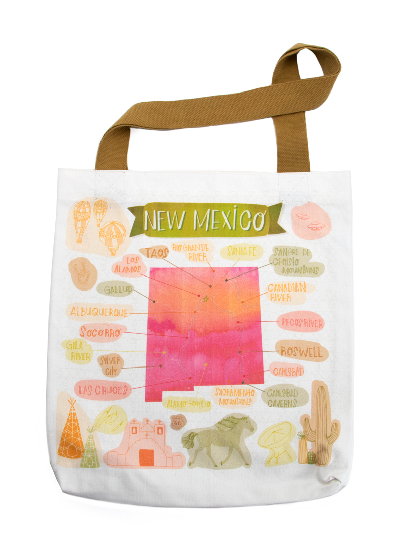 Desert Song New Mexico Tote