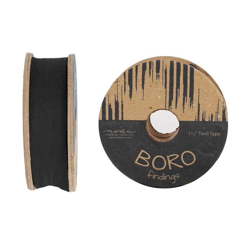 Boro Trim Twill Tape 1.50 Black #2115 16