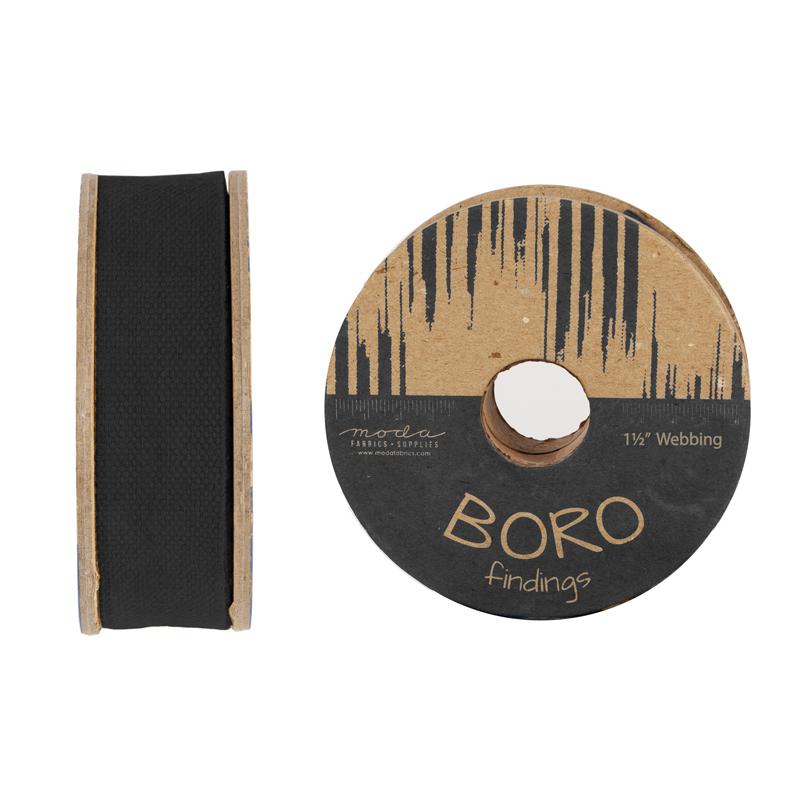 Boro Trim Webbing 1.5 Black