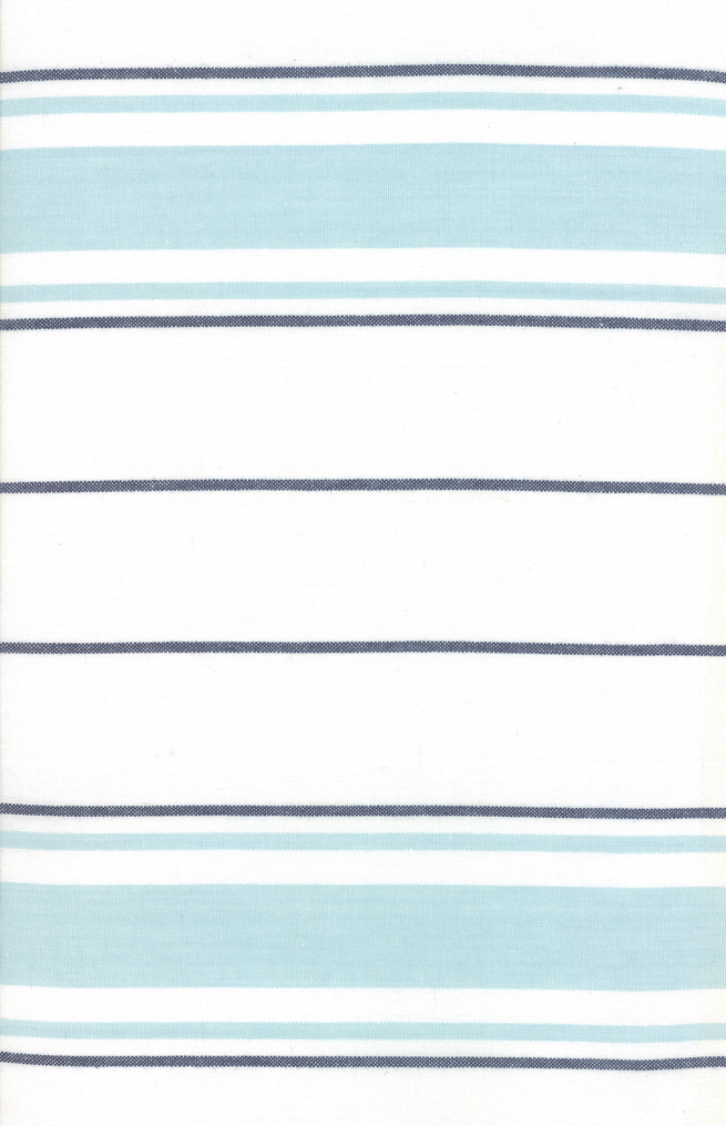 Rock Pool Toweling 18 992-252 Seaglass Regimental Stripe by Pieces to Treasure for Moda Pieces