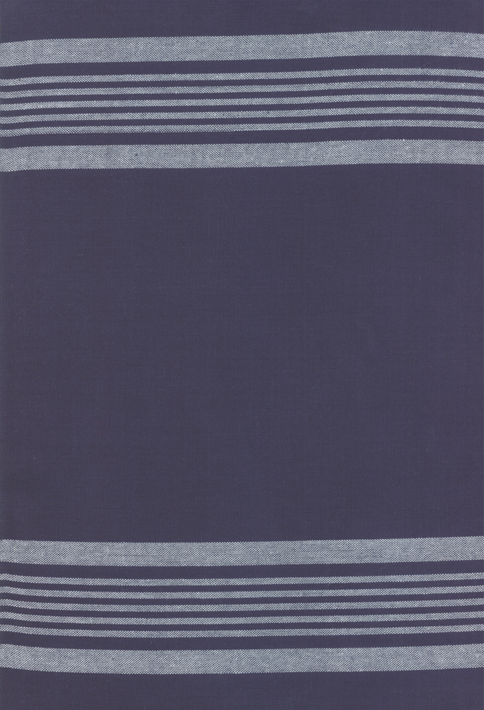 18 Inch Rock Pool Toweling - Stripe - Deep