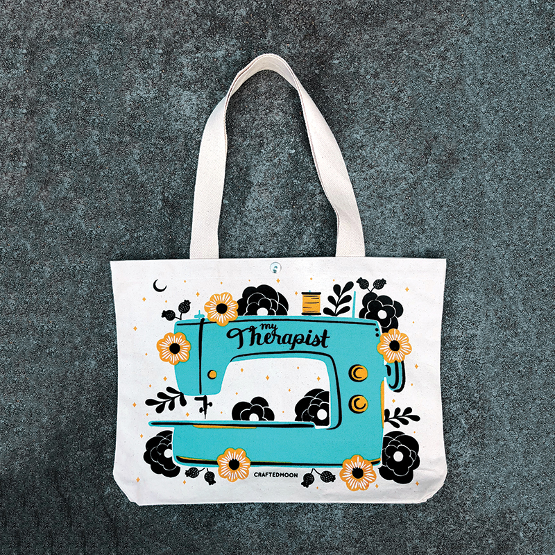 Sewing Supplies Tote