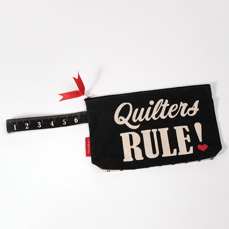 Quilters Rule- Measure Up Zipper Pouch by Moda