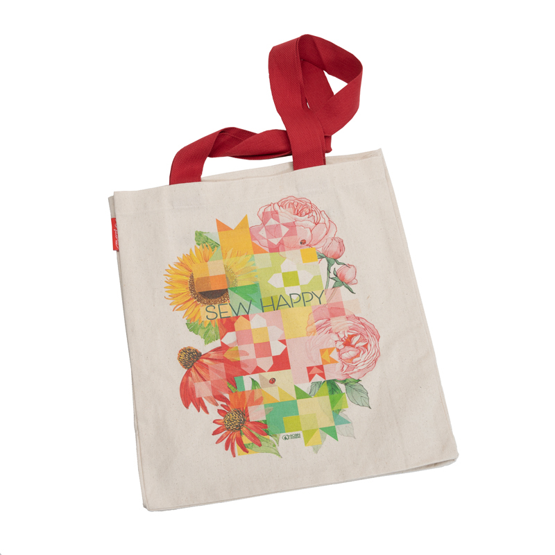 Sew Happy Tote by Robin Pickens