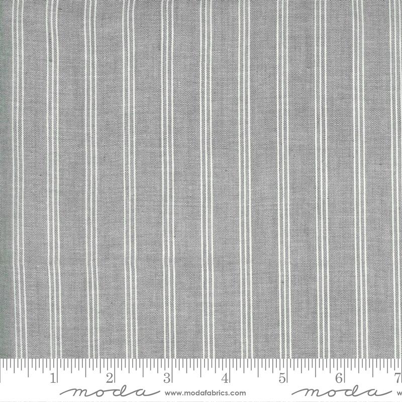 Low Volume Wovens - Triple Stripe - Silver