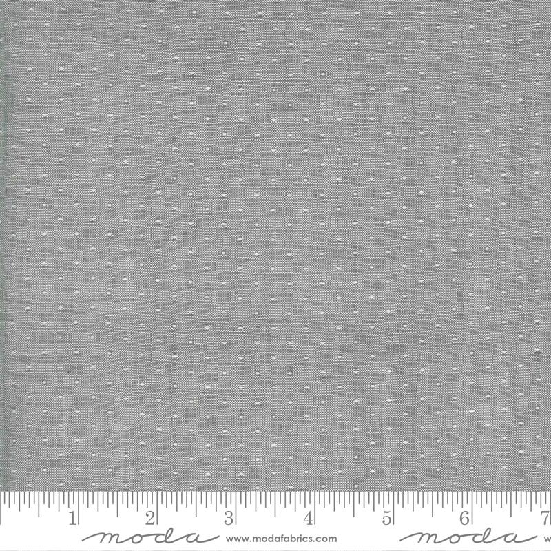 Low Volume Wovens - Pin Dot - Silver