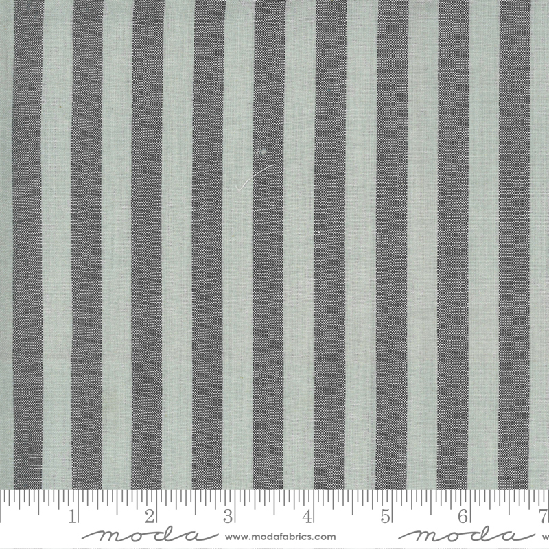 Low Volume Wovens - Big Stripe - Silver