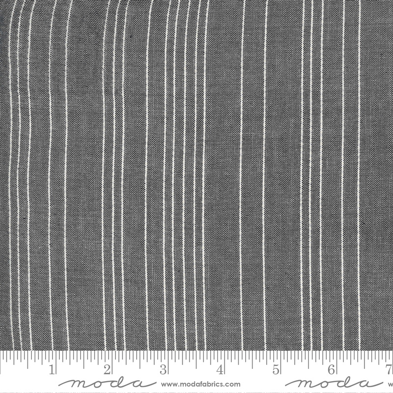 Low Volume Wovens - Stitched Stripe - Silver