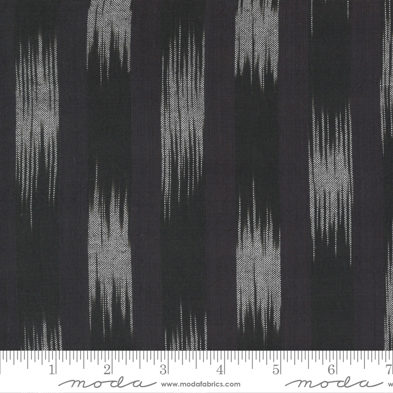 Low Volume Wovens - Ikat - Charcoal