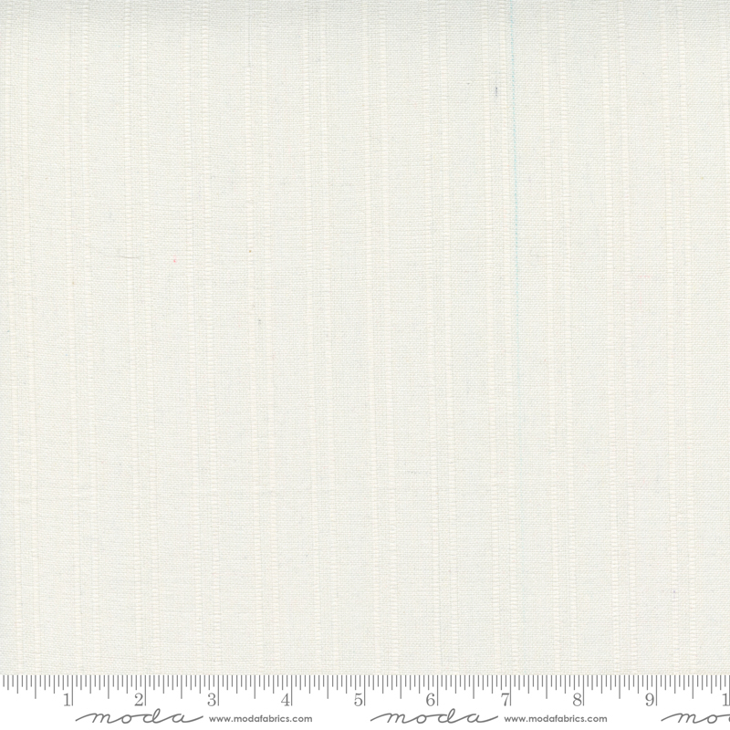 Lakeside Toweling by Pieces to Treasure - Woven Stripe - Off White - 60