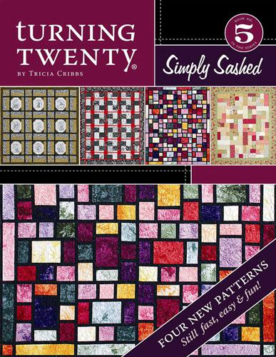 Turning Twenty Simply Sashed Book (Book 5 in the Turning Twenty Series)
