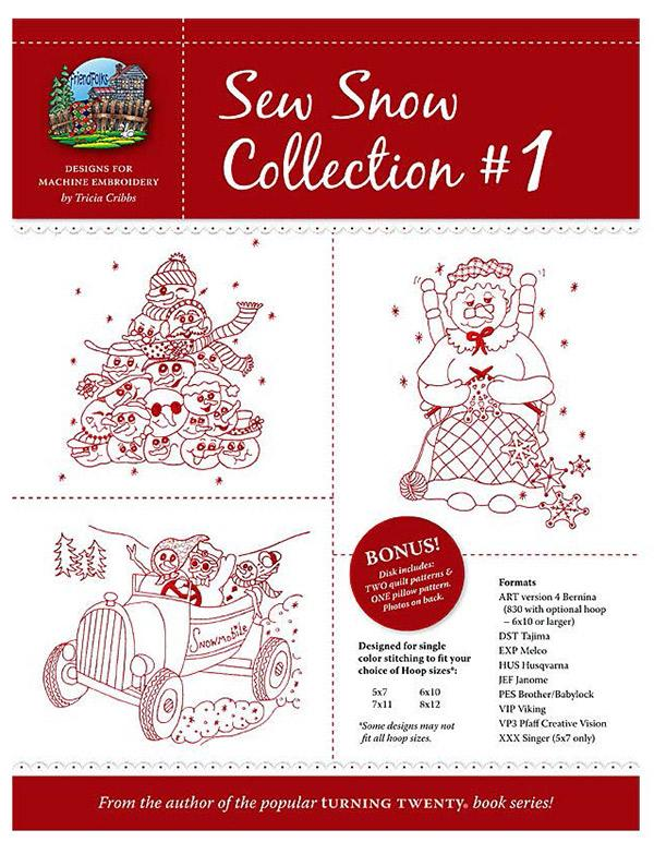 Sew Snow Collection #1