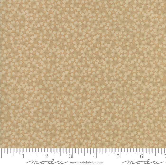 Moda 11123 11 Thistle Farm by Kansas Troubles Sand 2 1/4 yards 108 wide
