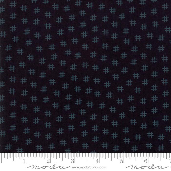 Moda 108 Muslin Mates Midnight 11151 - 14 *