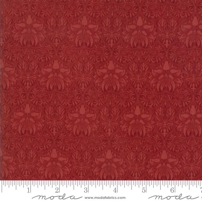 108 Morris Garden Crimson