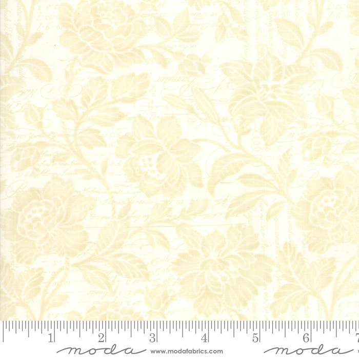 108 Memoirs Parchment Wide Backing Fabric