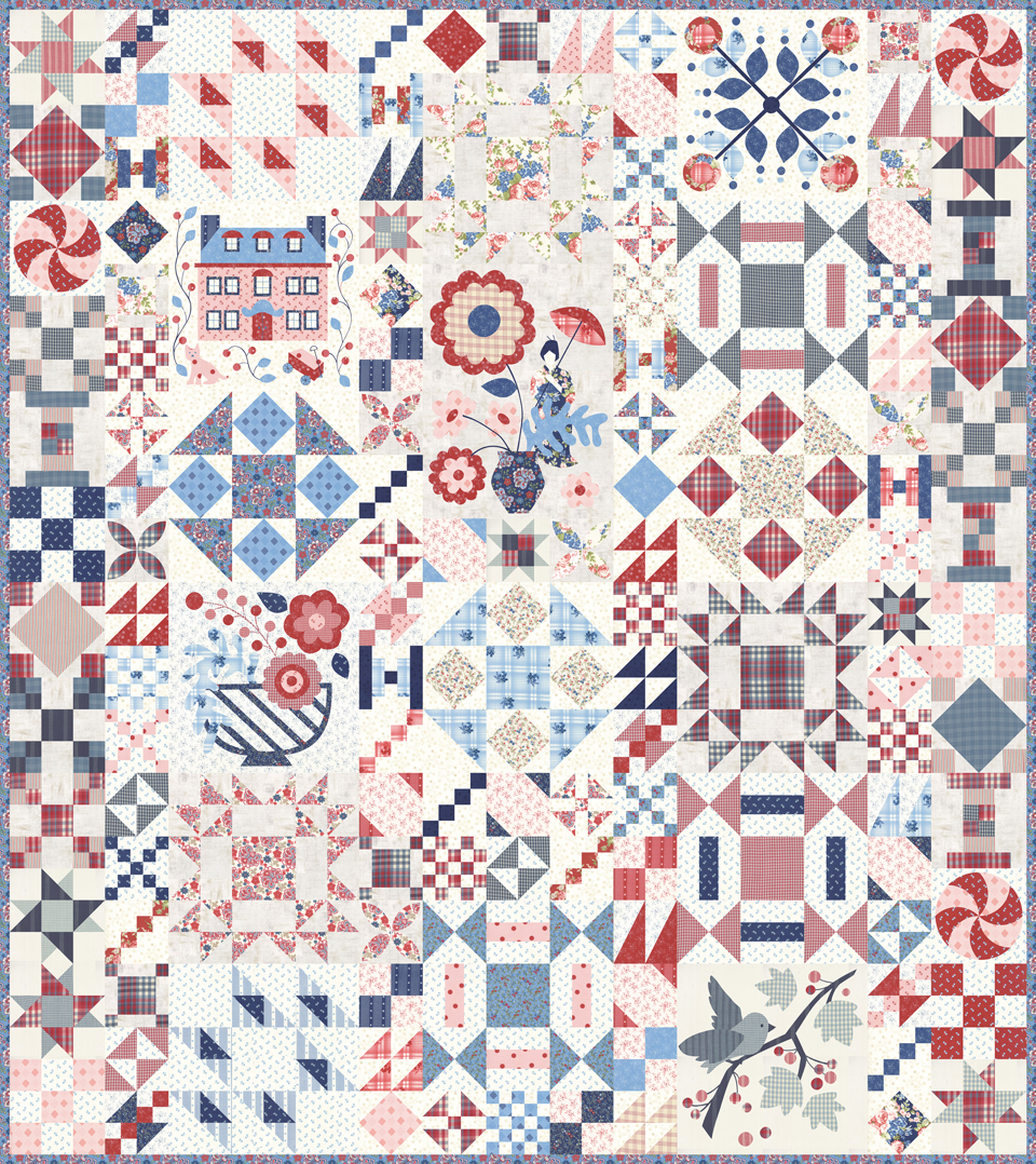 Fabric - Mackinac Island Digital Panel 14890P