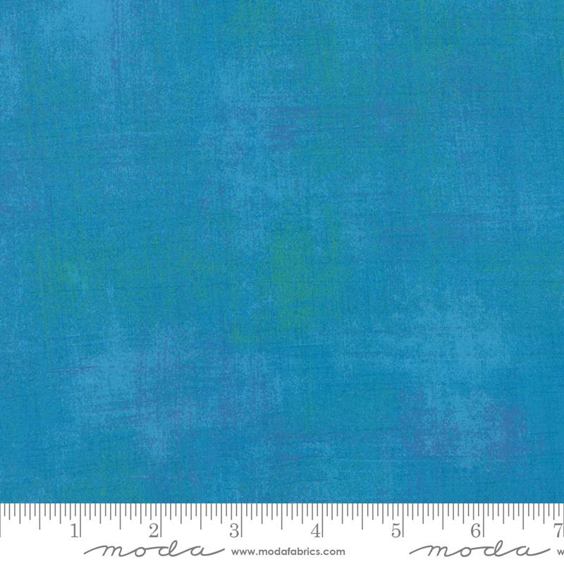 Grunge Basics 108 Wide Fabric - Turquoise by Moda Fabrics