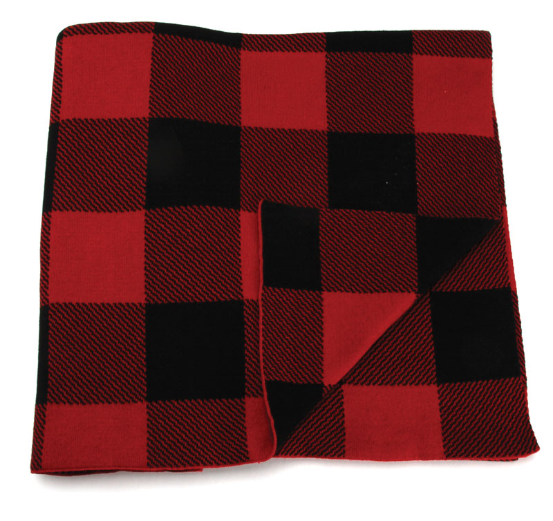 Throw Overnight Delivery Red Bl THROW 19