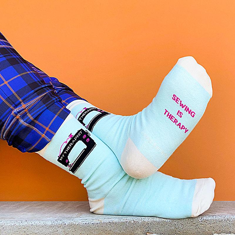My Therapist Socks