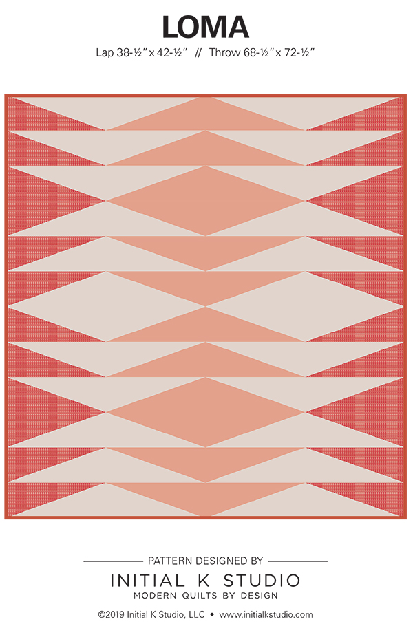 Loma Quilt by Initial K Studio