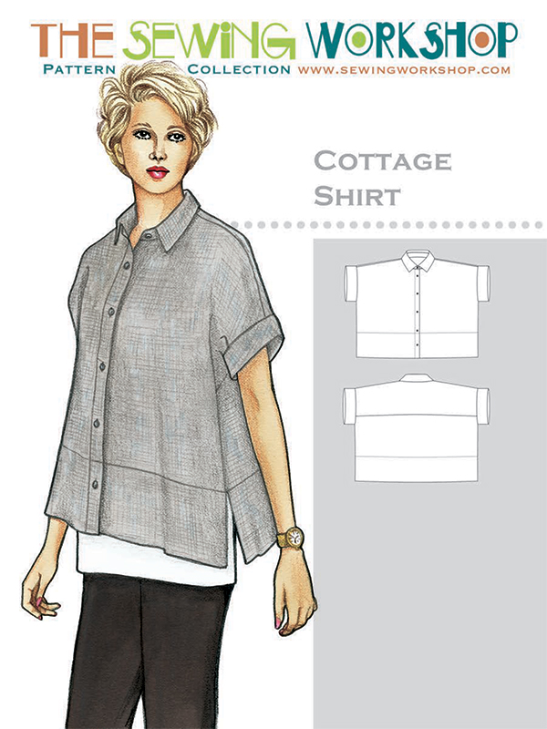 Cottage Shirt by The Sewing Workshop