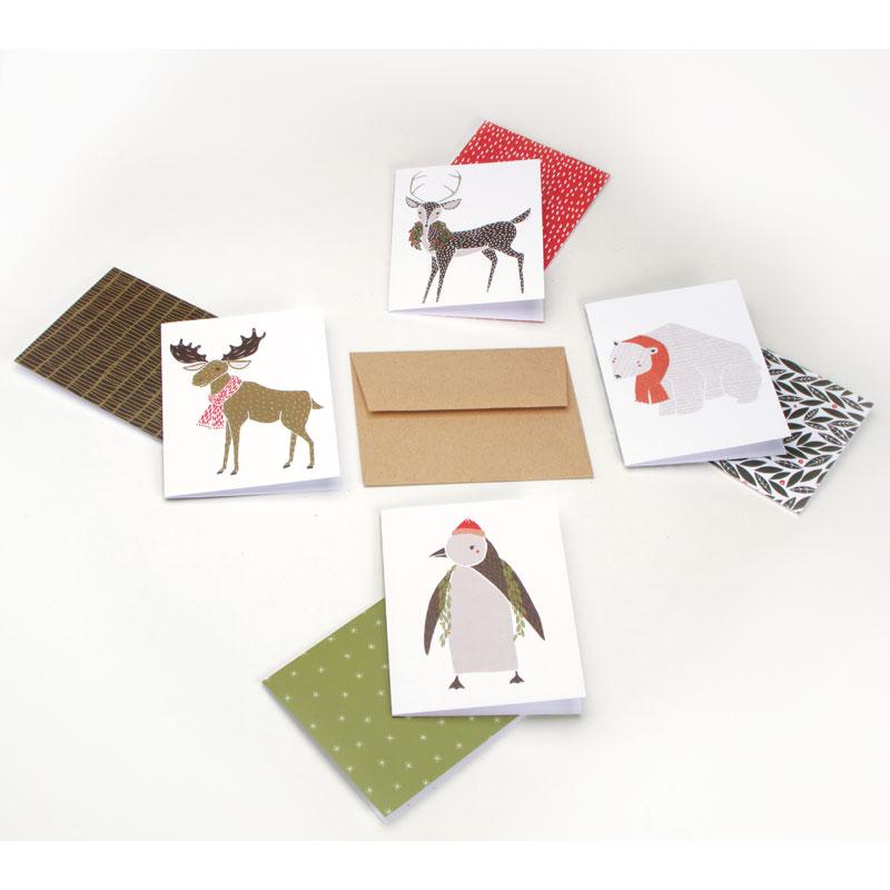 Merrily Mixed Box Set 8 Cards