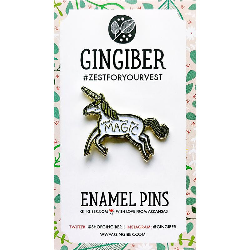 Enamel Pin Unicorn