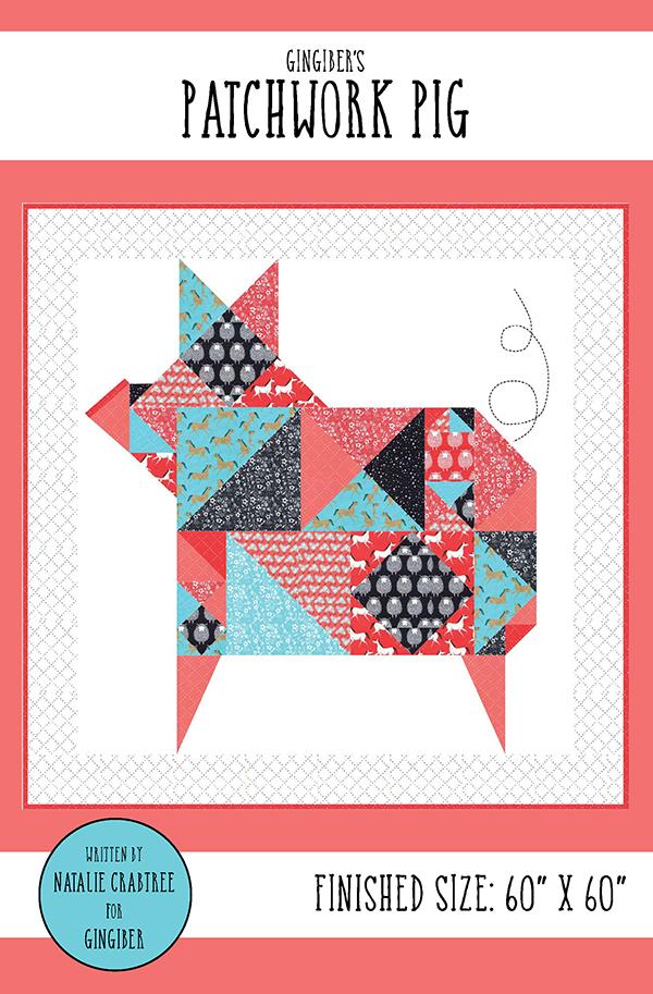 Patchwork Pig Quilt Kit GB-038Kit