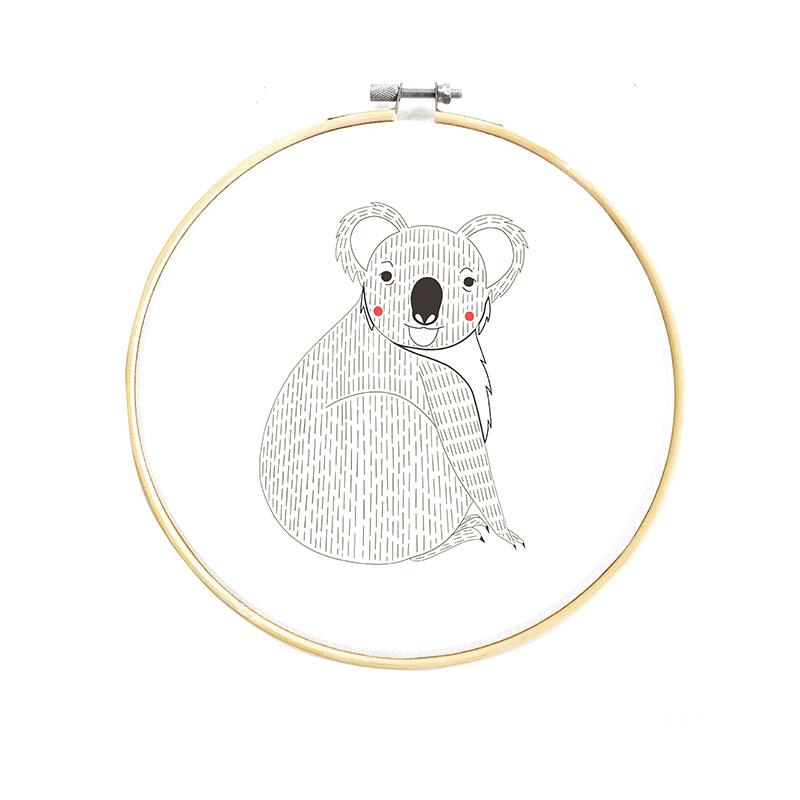 Gift - Embroidery Sampler Koala