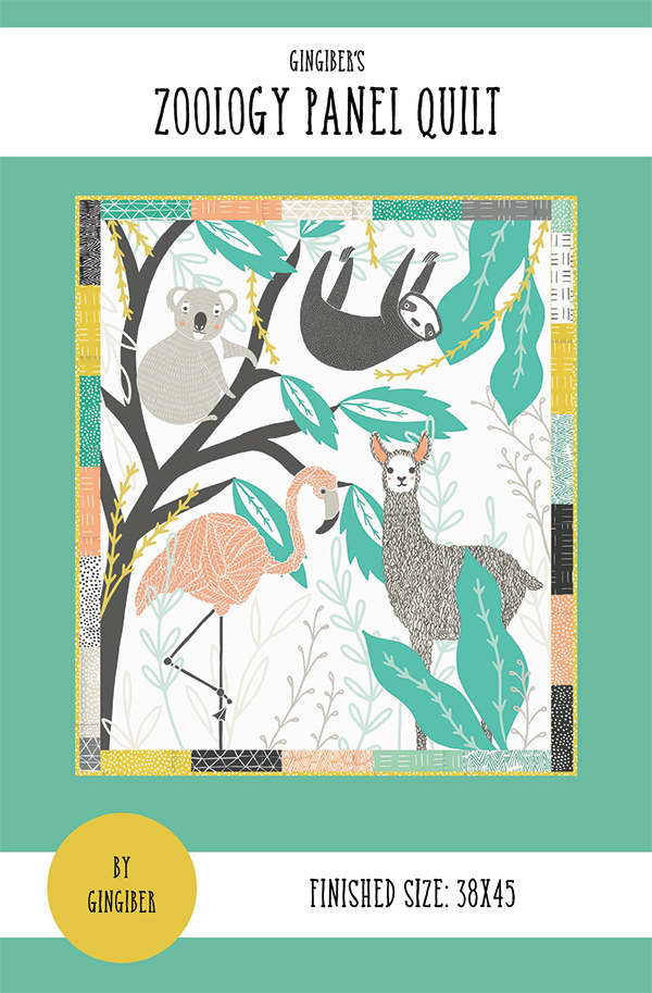 Zoology Panel Quilt