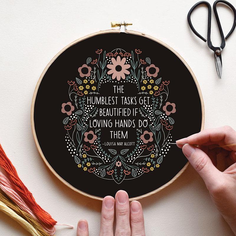 Embroidery Sampler Humblest Tsk