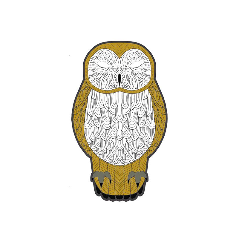 Needle Minder Nocturnal Owl