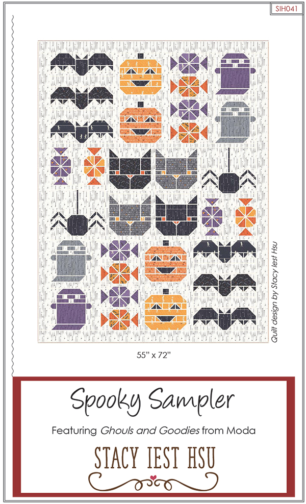 Spooky Sampler by Stacy Iest Hsu