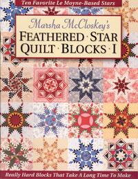 Feathered Star Quilt Blocks - books