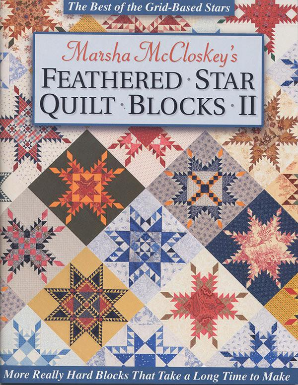 Feathered Star Quilt Blocks II - Book