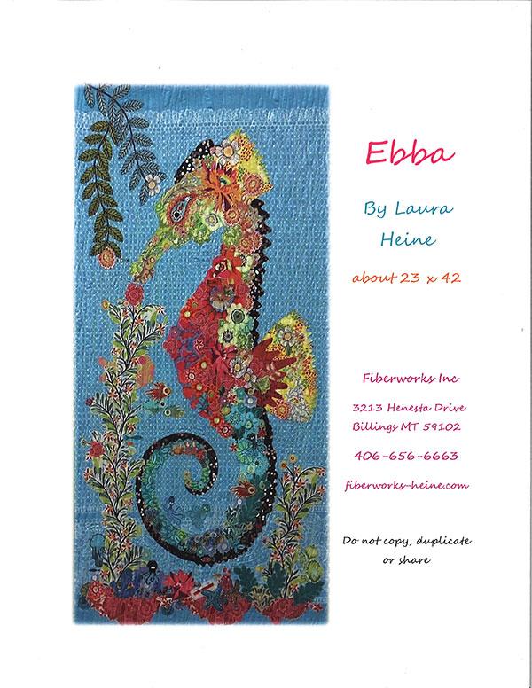 Ebba Seahorse by Laura Heine